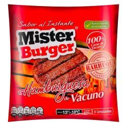 Hamburguesa Vacuno Mr Burguer 100 grs.