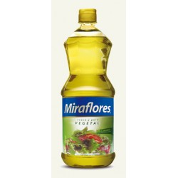Aceite Miraflores Vegetal 1 Lt.